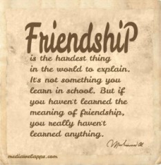ali friendship