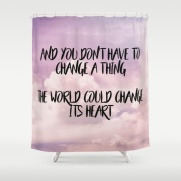 The world could change its heart.