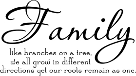 Families grow differently