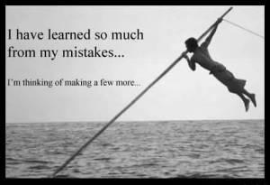 learn mistakes
