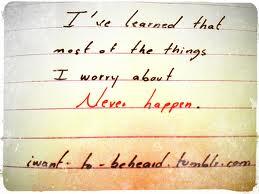 learn worry