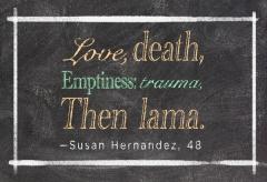 Then lama.