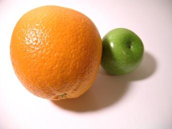 compare orange