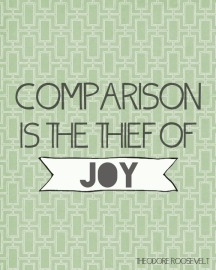 Comparison: joy thief.