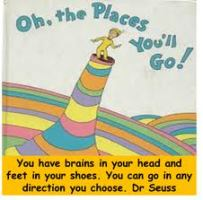 Oh the places you will go.
