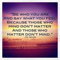 those who mind don't matter