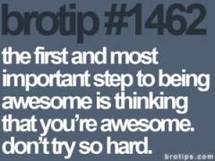 Think awesome. Be awesome.