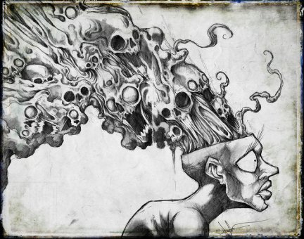 Suppressed thoughts