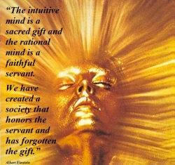 Intuition is a gift