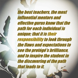 Best teachers help you find your own path